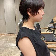 ニュアンスウルフ マッシュウルフ ウルフカット ストリート ヘアスタイルや髪型の写真・画像