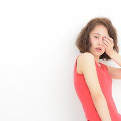 フェミニン ミディアム ガーリー ボブ ヘアスタイルや髪型の写真・画像
