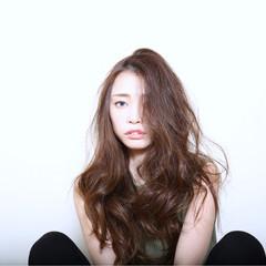 ロング ストリート 外国人風 パーマ ヘアスタイルや髪型の写真・画像