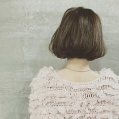 大人女子 ボブ ワンレングス ワンカール ヘアスタイルや髪型の写真・画像