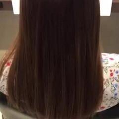 トリートメント ロング 髪質改善トリートメント ナチュラル ヘアスタイルや髪型の写真・画像