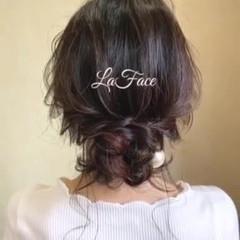 大人かわいい ロング エレガント お呼ばれ ヘアスタイルや髪型の写真・画像