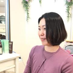 ボブ 成人式 結婚式 オフィス ヘアスタイルや髪型の写真・画像