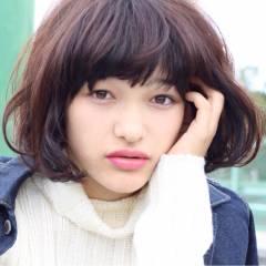 ストリート ストレート 秋 モード ヘアスタイルや髪型の写真・画像