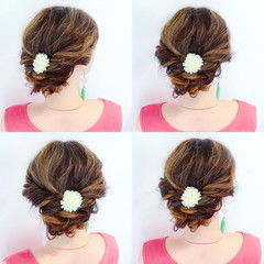 色気 夏 お祭り フェミニン ヘアスタイルや髪型の写真・画像