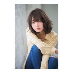 ナチュラル 黒髪 色気 デジタルパーマ ヘアスタイルや髪型の写真・画像