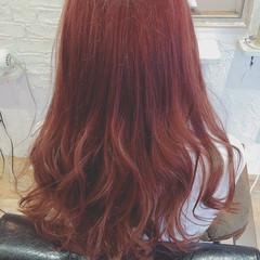 かわいい フェミニン ガーリー ロング ヘアスタイルや髪型の写真・画像