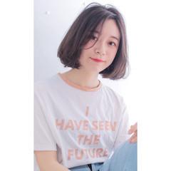 外国人風 アッシュ 透明感 ナチュラル ヘアスタイルや髪型の写真・画像