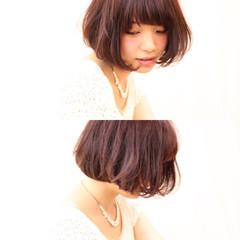 色気 ガーリー フェミニン パーマ ヘアスタイルや髪型の写真・画像