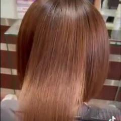 艶髪 髪質改善 髪質改善トリートメント ナチュラル ヘアスタイルや髪型の写真・画像