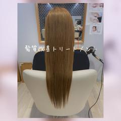 髪質改善トリートメント 髪質改善カラー 髪質改善 トリートメント ヘアスタイルや髪型の写真・画像