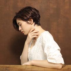 かわいい ナチュラル 色気 小顔 ヘアスタイルや髪型の写真・画像