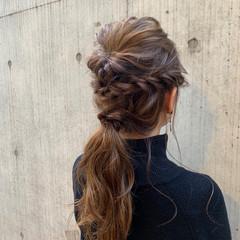ロング ゆるふわ 結婚式 フェミニン ヘアスタイルや髪型の写真・画像