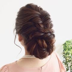簡単ヘアアレンジ ヘアアレンジ ゆるふわ ロング ヘアスタイルや髪型の写真・画像