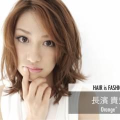 大人かわいい セミロング フェミニン ガーリー ヘアスタイルや髪型の写真・画像