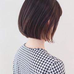 アンニュイほつれヘア デート ミニボブ ボブ ヘアスタイルや髪型の写真・画像