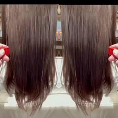ロング フェミニン 最新トリートメント 髪質改善トリートメント ヘアスタイルや髪型の写真・画像