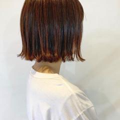 ブラウン ピンクブラウン ショコラブラウン ナチュラル ヘアスタイルや髪型の写真・画像