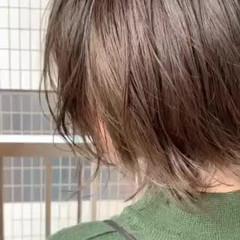 ガーリー ミニボブ 切りっぱなしボブ ウルフカット ヘアスタイルや髪型の写真・画像