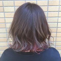 ストリート ボブ ギャル 外国人風フェミニン ヘアスタイルや髪型の写真・画像