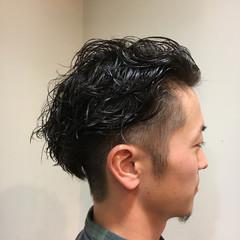 ショート メンズ 刈り上げ ストリート ヘアスタイルや髪型の写真・画像