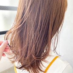 透明感カラー ベージュ ナチュラルベージュ 大人かわいい ヘアスタイルや髪型の写真・画像