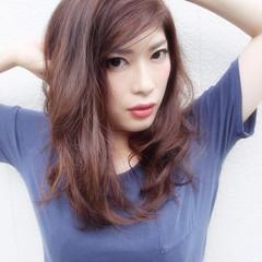 外国人風 こなれ感 ナチュラル ラフ ヘアスタイルや髪型の写真・画像