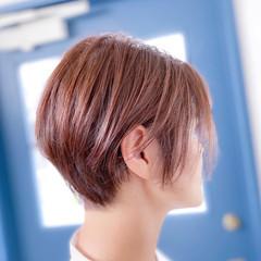 ナチュラル ショート ショートヘア ベリーショート ヘアスタイルや髪型の写真・画像