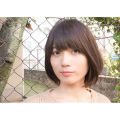 前髪あり ヘアアレンジ 大人かわいい グラデーションカラー ヘアスタイルや髪型の写真・画像