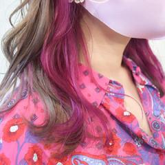 ミルクティーグレージュ ミディアム ミルクティー フェミニン ヘアスタイルや髪型の写真・画像