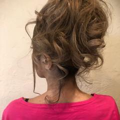 ヘアアレンジ 上品 ロング パーティ ヘアスタイルや髪型の写真・画像