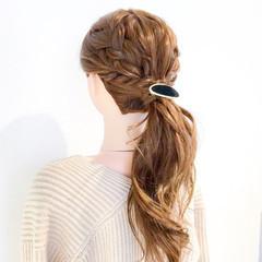 上品 エレガント 簡単ヘアアレンジ 女子会 ヘアスタイルや髪型の写真・画像