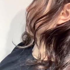 ウルフ ベージュ ウルフカット デジタルパーマ ヘアスタイルや髪型の写真・画像
