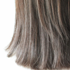 ショコラブラウン 外国人風 ブラウンベージュ ナチュラル ヘアスタイルや髪型の写真・画像