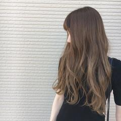 秋 大人かわいい 外国人風 ロング ヘアスタイルや髪型の写真・画像