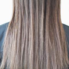 アッシュグレージュ グレージュ ナチュラル ベージュ ヘアスタイルや髪型の写真・画像