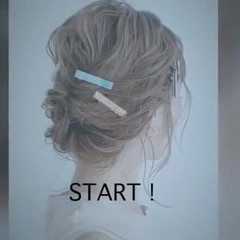 抜け感 簡単ヘアアレンジ ナチュラル ミディアム ヘアスタイルや髪型の写真・画像