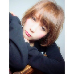 外国人風 ショートボブ 前髪あり おフェロ ヘアスタイルや髪型の写真・画像
