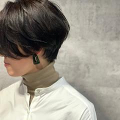 ハンサムショート ショートヘア ショート モード ヘアスタイルや髪型の写真・画像