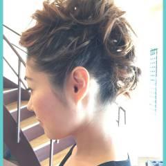 渋谷系 逆三角形 コンサバ セミロング ヘアスタイルや髪型の写真・画像