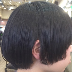 マッシュ モード 艶髪 ボブ ヘアスタイルや髪型の写真・画像
