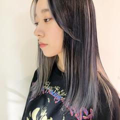 ホワイトブリーチ ストリート ホワイトカラー ホワイトグレージュ ヘアスタイルや髪型の写真・画像