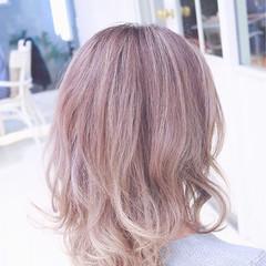 ストリート ブラウン グラデーションカラー ボブ ヘアスタイルや髪型の写真・画像