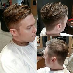 ナチュラル ショート 外国人風 メンズ ヘアスタイルや髪型の写真・画像