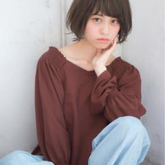 大人かわいい 簡単ヘアアレンジ 秋 透明感 ヘアスタイルや髪型の写真・画像