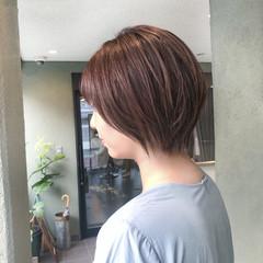 ナチュラル デザインカラー ハイライト イルミナカラー ヘアスタイルや髪型の写真・画像