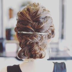 ロング 結婚式 エレガント 上品 ヘアスタイルや髪型の写真・画像