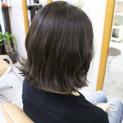 アッシュ 外国人風カラー ボブ ナチュラル ヘアスタイルや髪型の写真・画像