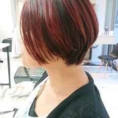 ショート ブリーチオンカラー ストリート ショートヘア ヘアスタイルや髪型の写真・画像