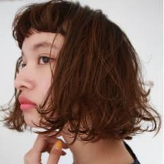ストリート ボブ ショート ウェットヘア ヘアスタイルや髪型の写真・画像